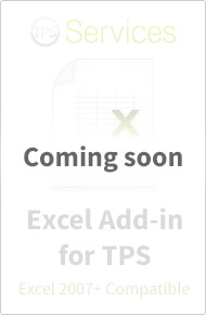 Excel Add-in for TPS Services
