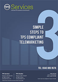 3 Simple steps to TPS compliant telemarketing