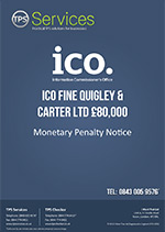Quigley and Carter Ltd Monetary Penalty Notice