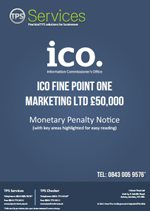 Point One Marketing Ltd Monetary Penalty Notice