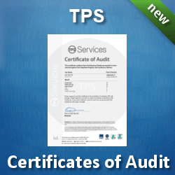 Download TPS Certificates of Audit