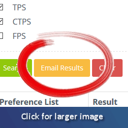 Email yourself the results of your TPS Check