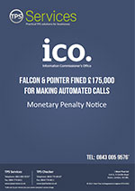 Falcon and Pointer Monetary Penalty Notice