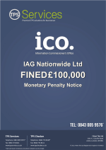 IAG Nationwide Ltd Monetary Penalty Notice as issued by the ICO
