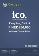 Everything DM aka Marketingfile fined £60000 by the ICO